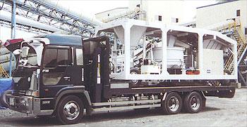 10トントラック(セルフローダー)